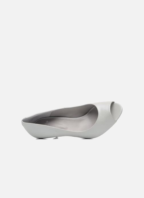 Zapatos de tacón Perlato Poshy Blanco vista lateral izquierda
