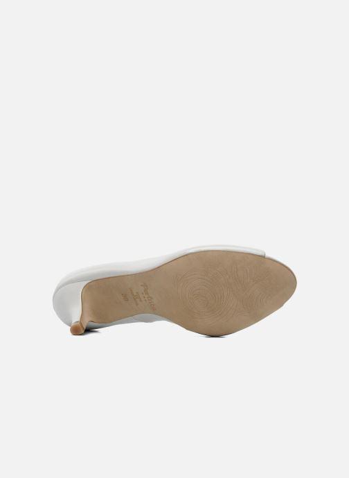 Zapatos de tacón Perlato Poshy Blanco vista de arriba