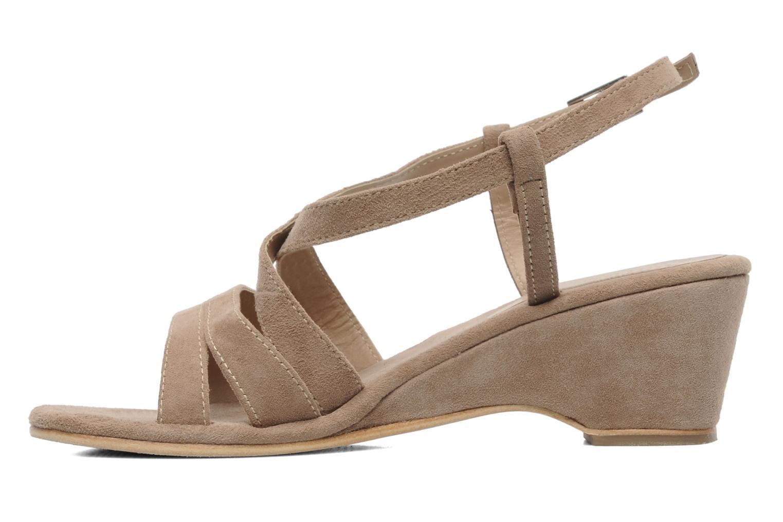 Sandales et nu-pieds Elizabeth Stuart Setis 606 Beige vue face