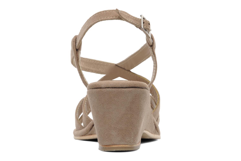 Sandales et nu-pieds Elizabeth Stuart Setis 606 Beige vue droite