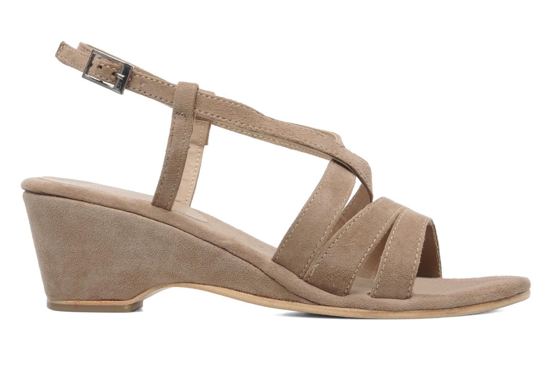 Sandales et nu-pieds Elizabeth Stuart Setis 606 Beige vue derrière