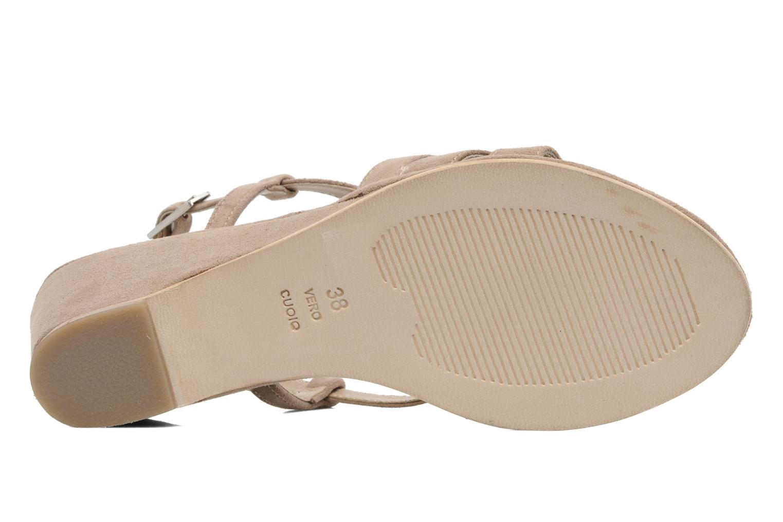 Sandales et nu-pieds Elizabeth Stuart Setis 606 Beige vue haut