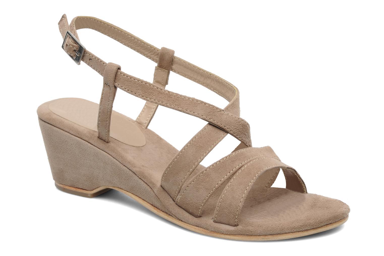 Sandales et nu-pieds Elizabeth Stuart Setis 606 Beige vue détail/paire