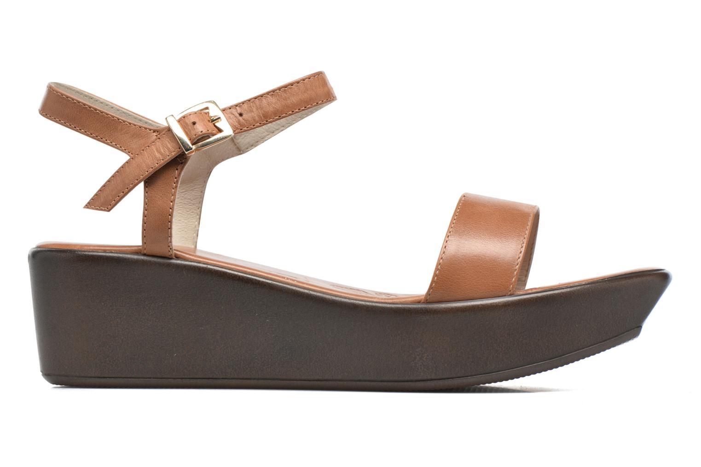 Sandales et nu-pieds Elizabeth Stuart Villa 304 Marron vue derrière