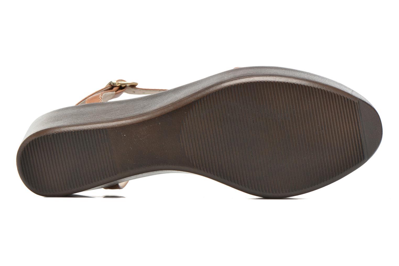 Sandales et nu-pieds Elizabeth Stuart Villa 304 Marron vue haut