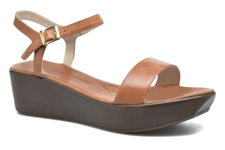 Sandales et nu-pieds Elizabeth Stuart Villa 304 Marron vue détail/paire