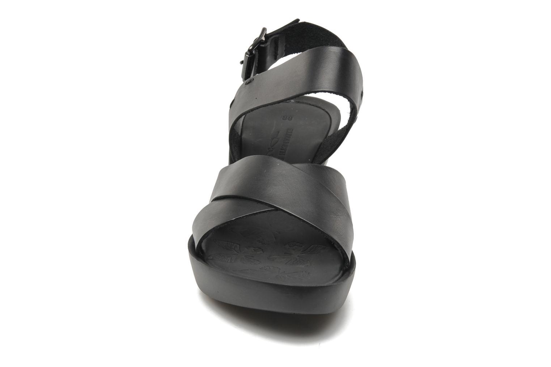 Sandales et nu-pieds Elizabeth Stuart Solen 421 Noir vue portées chaussures