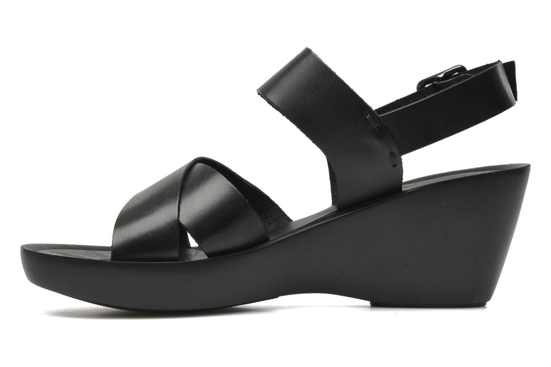 Sandales et nu-pieds Elizabeth Stuart Solen 421 Noir vue face
