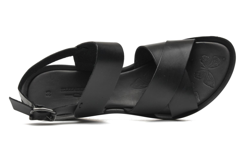 Sandales et nu-pieds Elizabeth Stuart Solen 421 Noir vue gauche