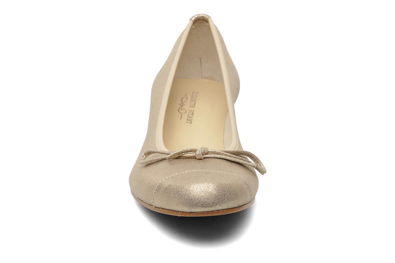 Ballerines Elizabeth Stuart Jouti 416 Or et bronze vue portées chaussures