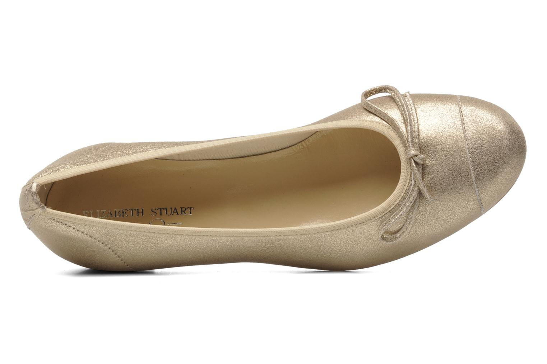 Ballerines Elizabeth Stuart Jouti 416 Or et bronze vue gauche