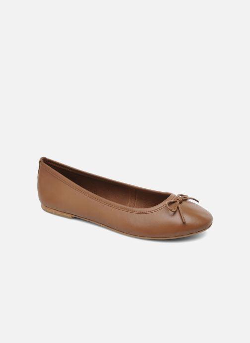 Ballerinaer Elizabeth Stuart Cesarine 830 Brun detaljeret billede af skoene