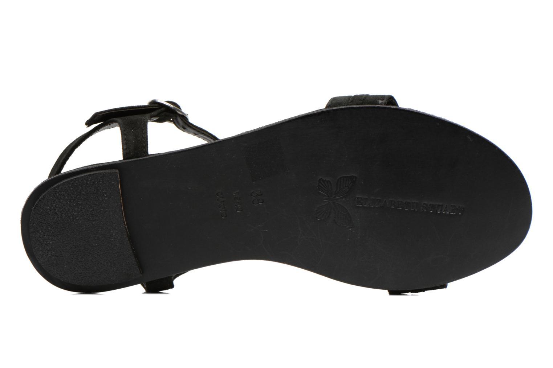 Sandales et nu-pieds Elizabeth Stuart Planta 606 Noir vue haut