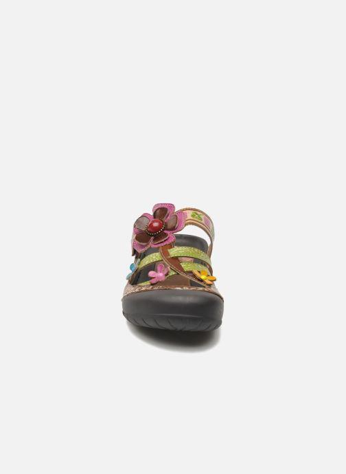 Zoccoli Laura Vita Phenix Multicolore modello indossato