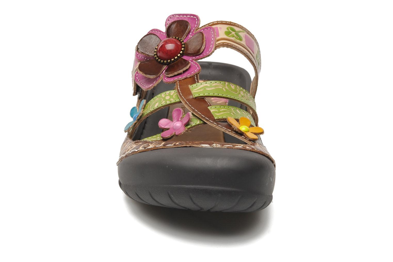 Mules et sabots Laura Vita Phenix Multicolore vue portées chaussures