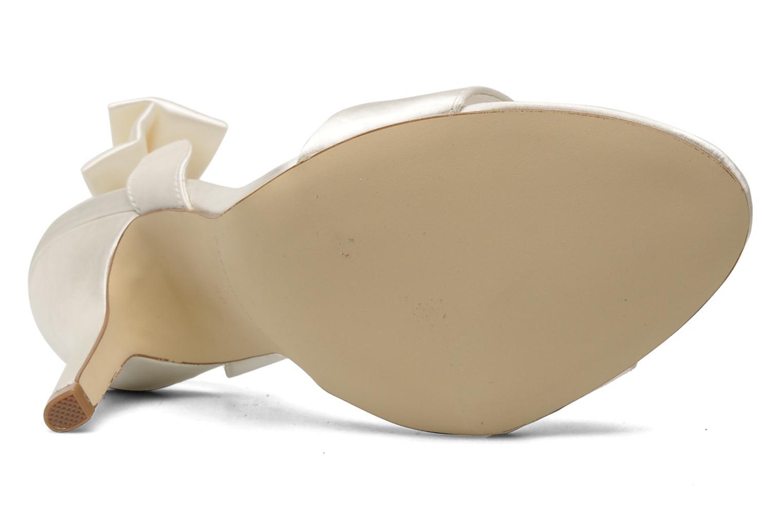 Sandales et nu-pieds Menbur Belli Blanc vue haut