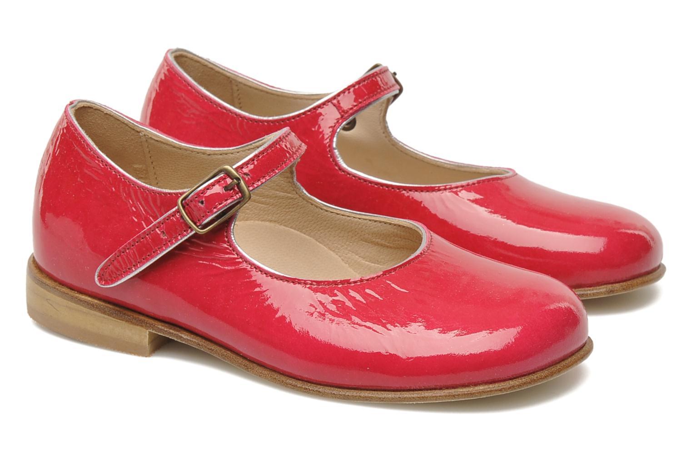 Ballerines PèPè Curuba Rose vue portées chaussures