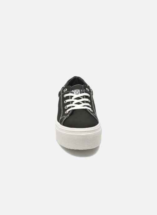 Baskets No Box Alma Noir vue portées chaussures