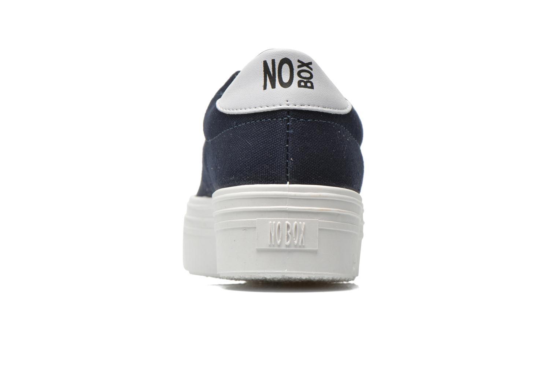 Baskets No Box Alma Bleu vue droite