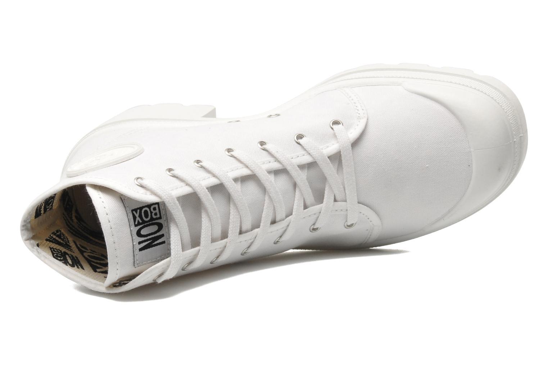 Baskets No Box Galia Blanc vue gauche