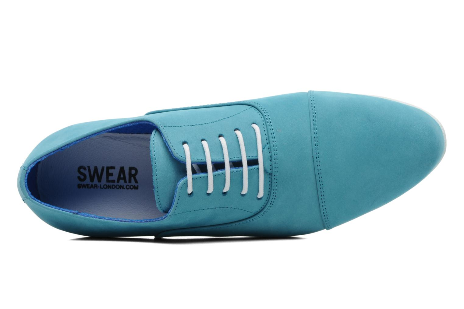 Veterschoenen Swear Jimmy 1 W Blauw links