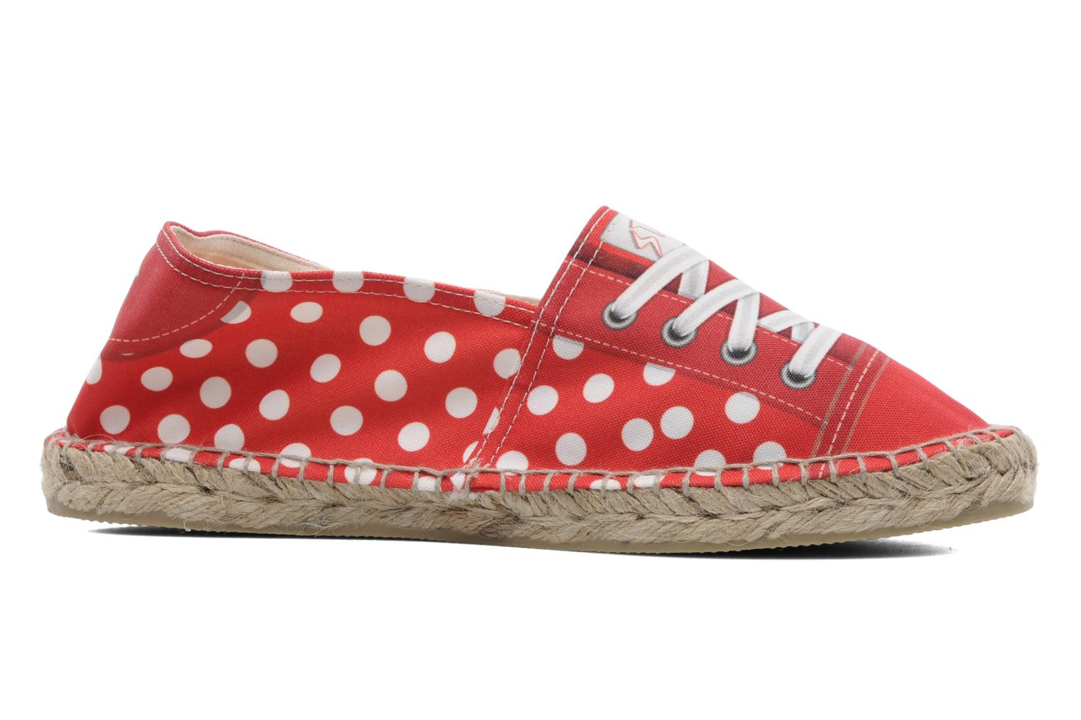 Espadrilles String Republic Lisa W Red back view
