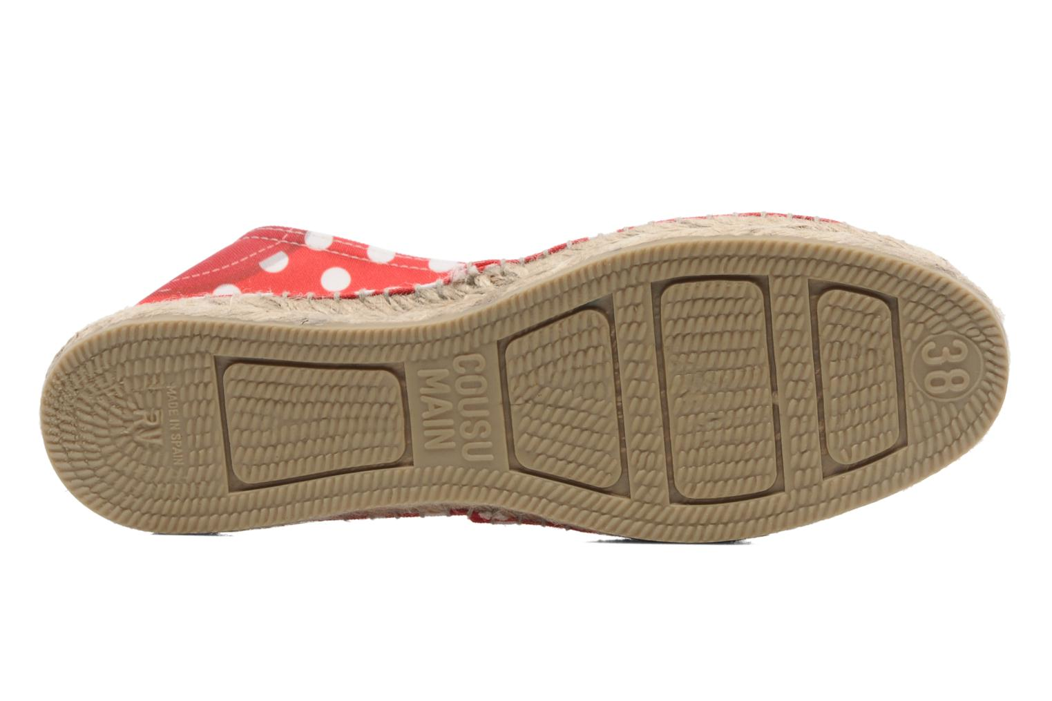 Espadrilles String Republic Lisa W Red view from above