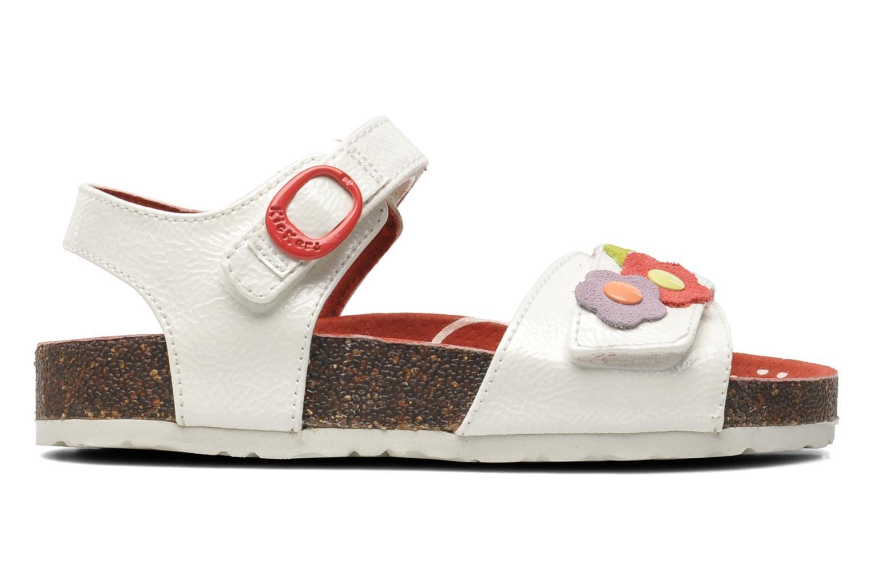 Sandales et nu-pieds Kickers Magiflower Blanc vue derrière
