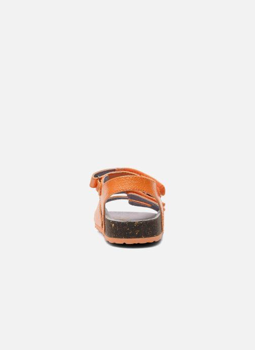 Sandalen Kickers Magipop Oranje rechts