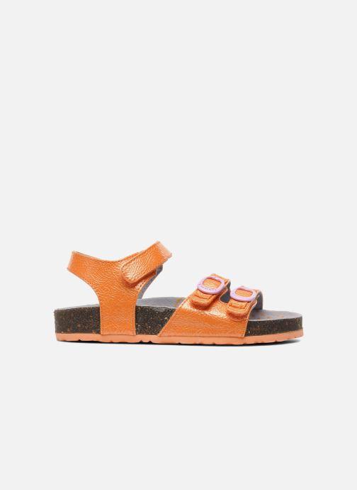 Sandalen Kickers Magipop Oranje achterkant