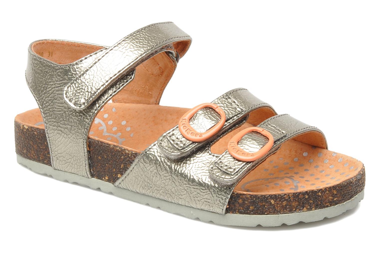 Sandales et nu-pieds Kickers Magipop Argent vue détail/paire