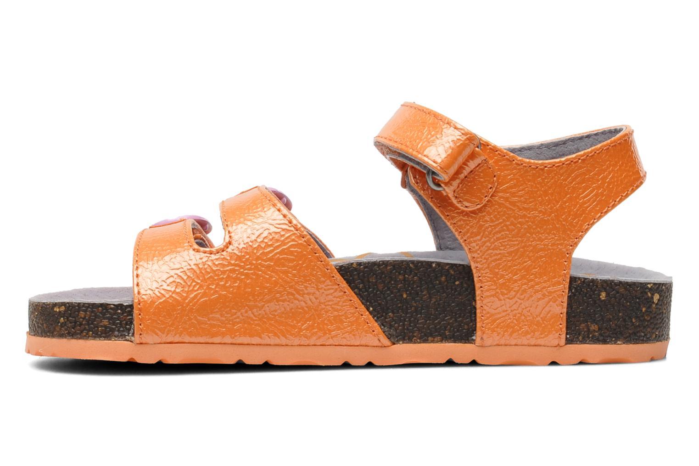 Sandales et nu-pieds Kickers Magipop Orange vue face
