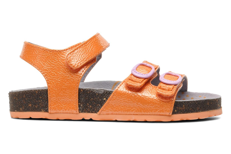 Sandales et nu-pieds Kickers Magipop Orange vue derrière
