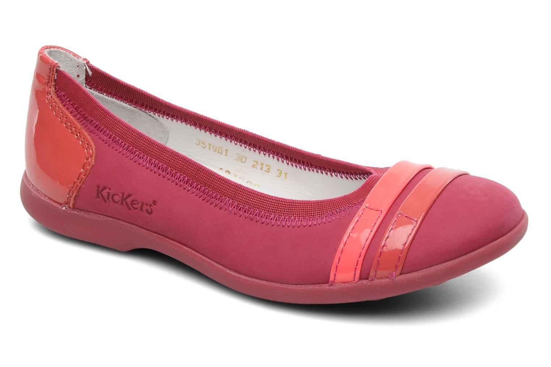 153d6885eca0d Kickers Amberi (Rose) - Ballerines chez Sarenza (178779)