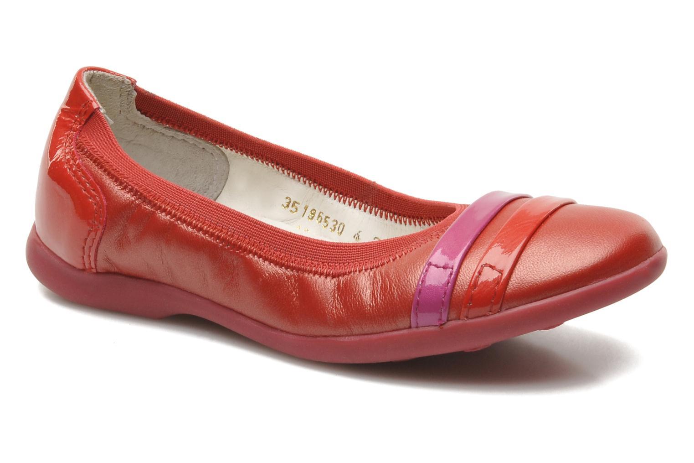 a998f46ffc1b9 Kickers Amberi (Rouge) - Ballerines chez Sarenza (220805)