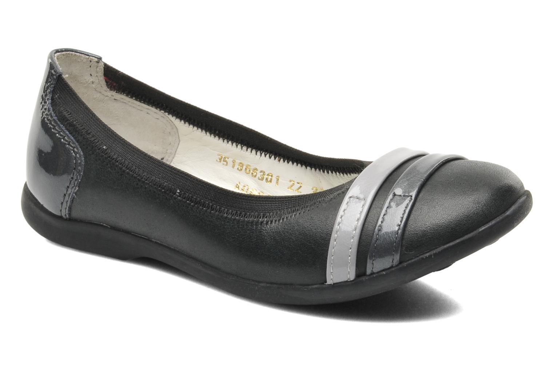 Ballerinaer Kickers Amberi Grå detaljeret billede af skoene