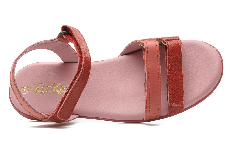 Sandali e scarpe aperte Kickers Arcenciel Rosa immagine sinistra