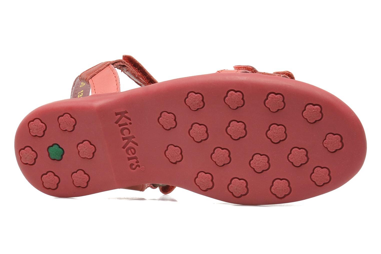 Sandali e scarpe aperte Kickers Arcenciel Rosa immagine dall'alto