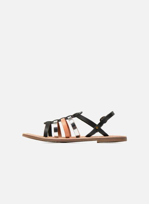 Sandali e scarpe aperte Kickers Dixmillion Nero immagine frontale