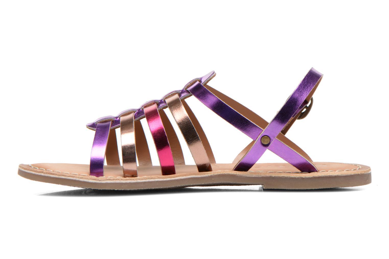 Sandales et nu-pieds Kickers Dixmillion Violet vue face