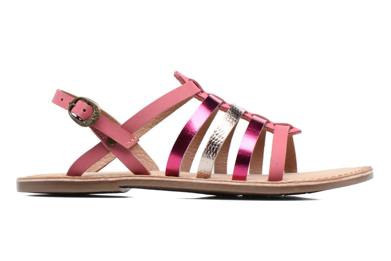 Sandaler Kickers Dixmillion Pink se bagfra