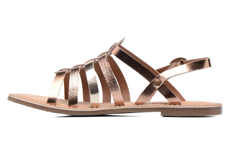 Sandaler Kickers Dixmillion Guld og bronze se forfra