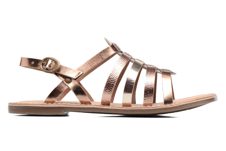 Sandaler Kickers Dixmillion Guld og bronze se bagfra