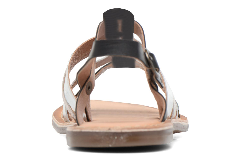 Sandales et nu-pieds Kickers Dixmillion Noir vue droite