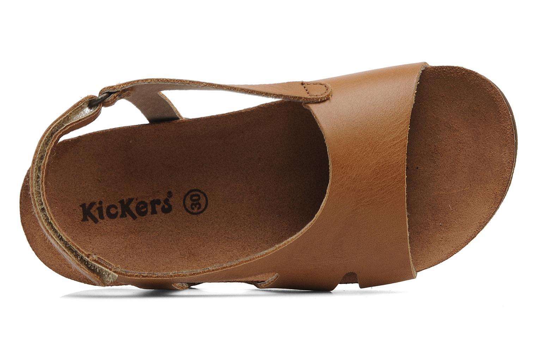 Sandali e scarpe aperte Kickers Anatokid Marrone immagine sinistra