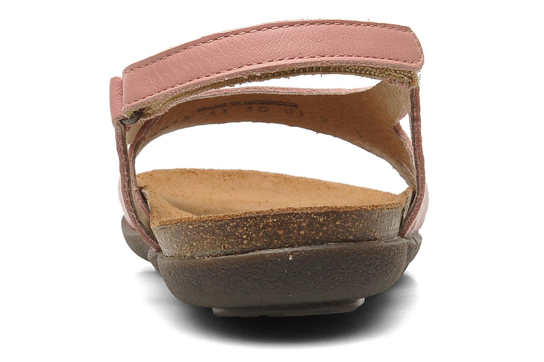 Sandales et nu-pieds Kickers Anatokid Rose vue droite