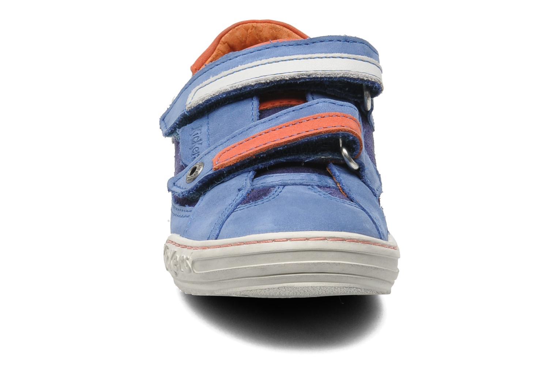 Baskets Kickers Jingembre Bleu vue portées chaussures