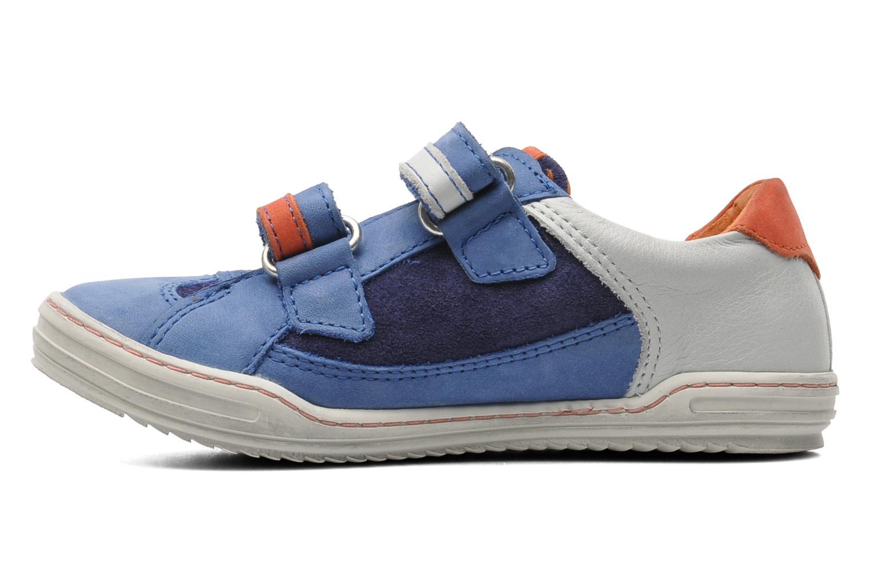 Sneakers Kickers Jingembre Blauw voorkant