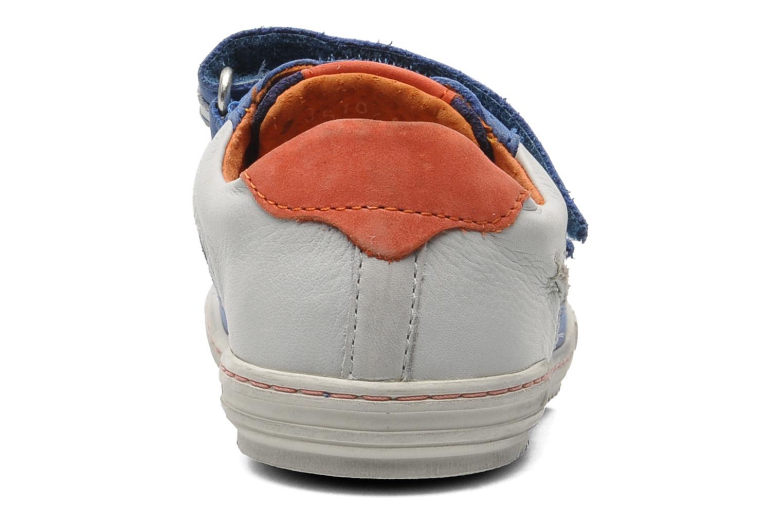 Sneakers Kickers Jingembre Blauw rechts