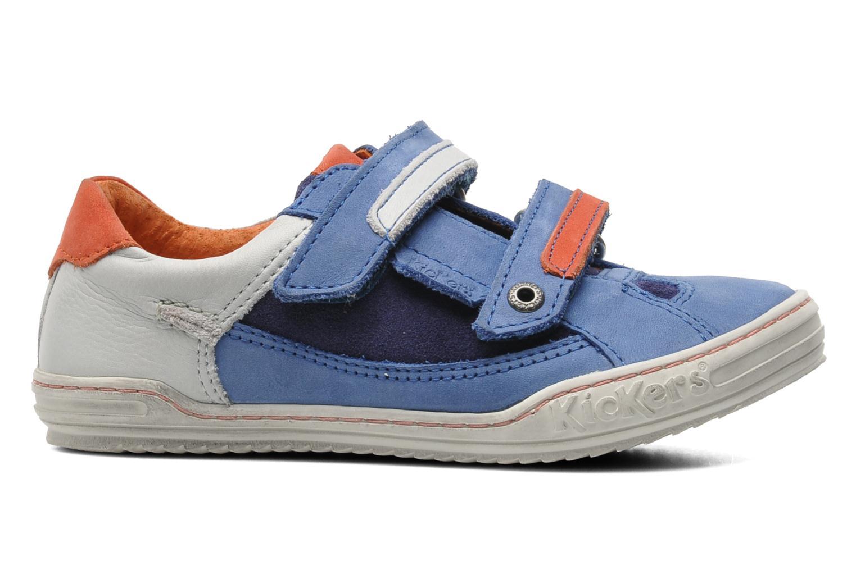 Sneakers Kickers Jingembre Blauw achterkant